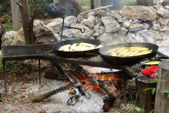 Tribute To Outdoor Fireplace Cooking Www Cameroonkitchendesigns Com